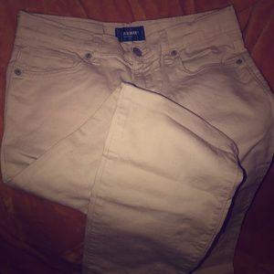 Boy tan jeans